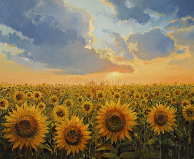 Download Sun Harmony stock illustration. Image of landscape, botanical - 25213187