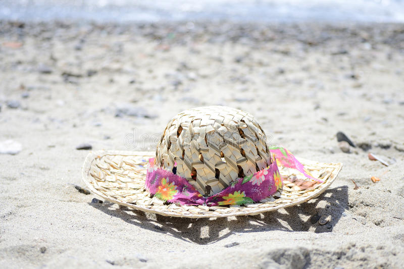Download Sun hat stock image. Image of sand, female, background - 20277943