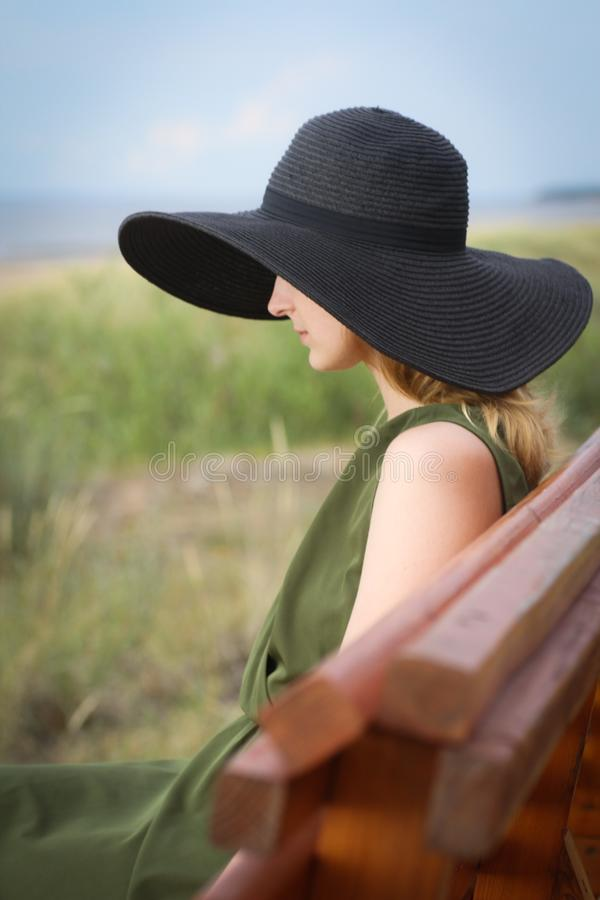 Sun Hat, Headgear, Hat, Vacation royalty free stock images