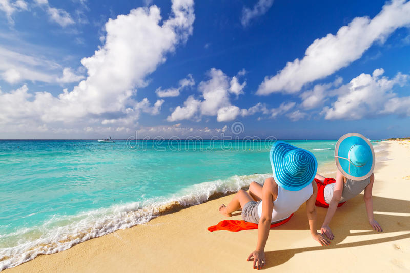 Download Sun Holidays On The Tropical Beach Stock Photo - Image: 67688736