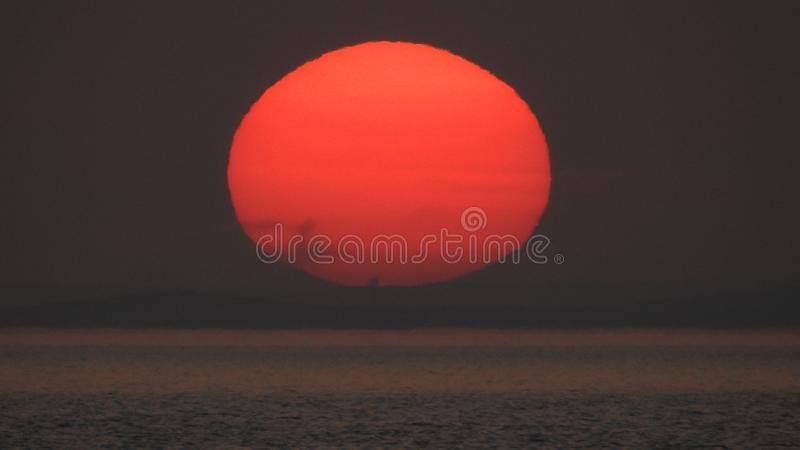 The sun of hope royalty free stock photo