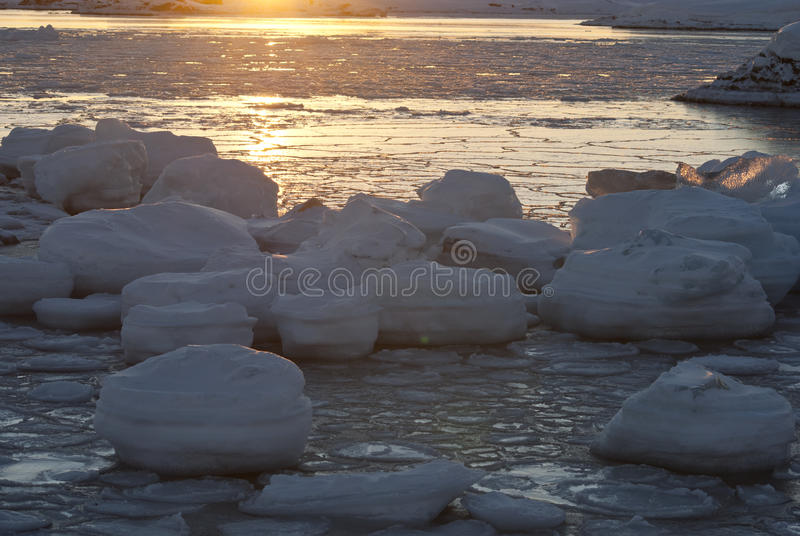 Download Sun and ice. stock photo. Image of morning, antarctica - 23443042
