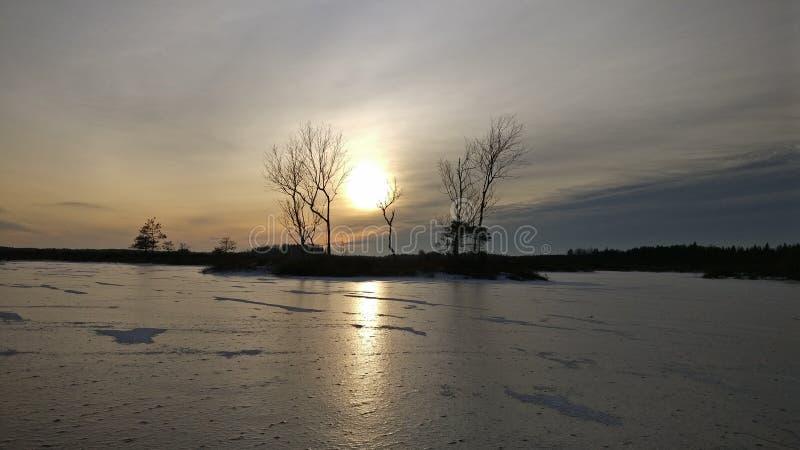 Sun&Ice foto de stock royalty free