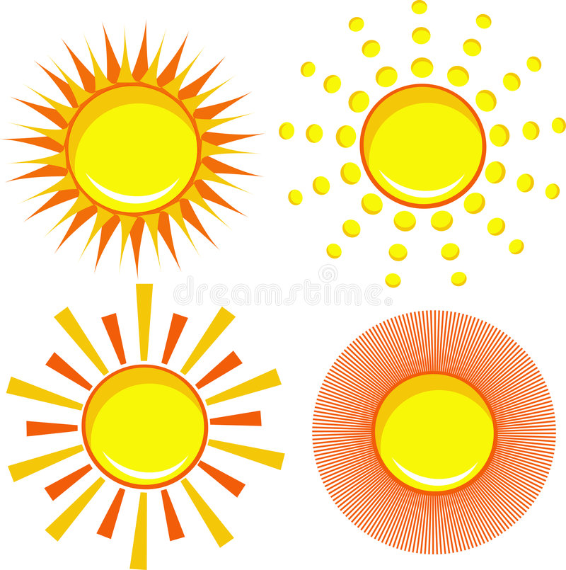 Download Sun Icon Royalty Free Stock Photo - Image: 7144255