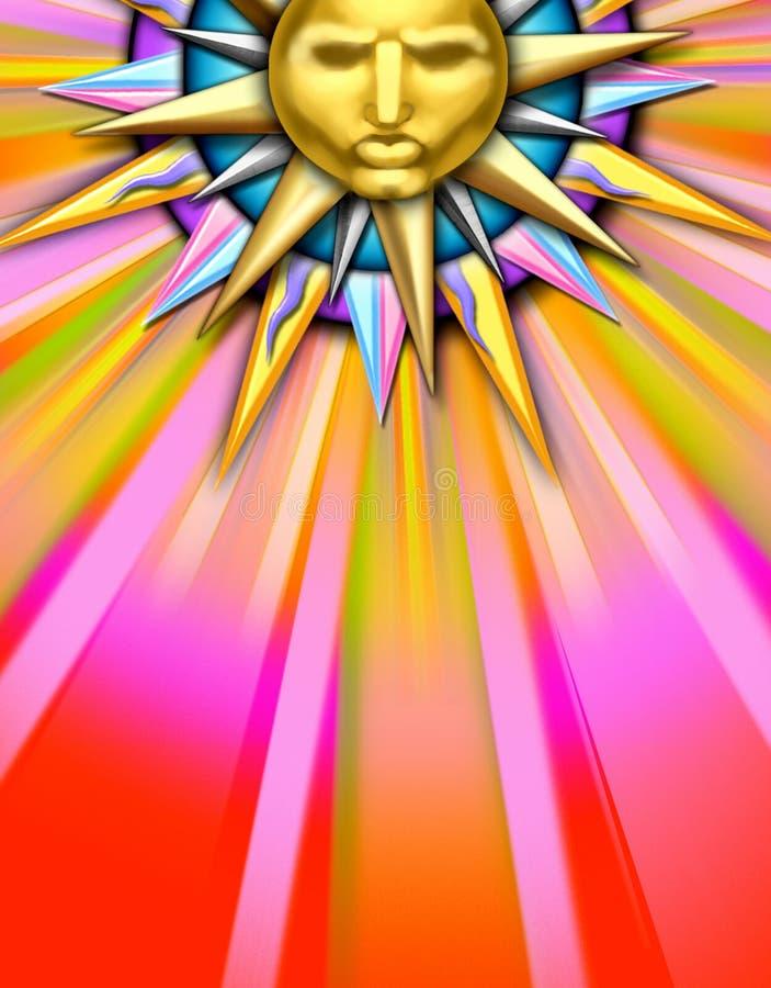 sun illustration vector illustration