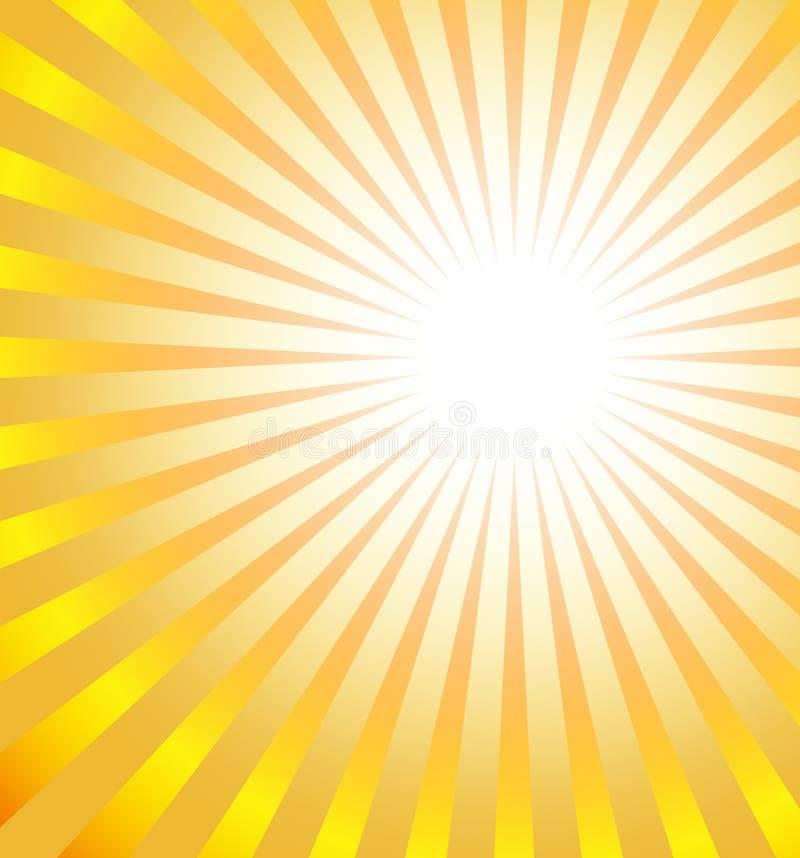 Sun-Impuls stock abbildung