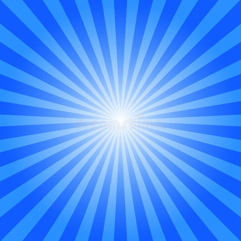 Sun irradia la ilustración stock de ilustración