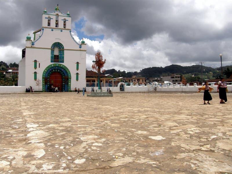 Sun Juan Chamula royaltyfri foto