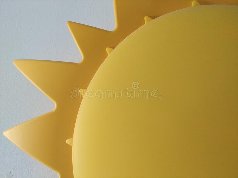 Sun lamp royalty free stock photography