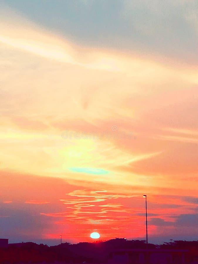 Sun stockfoto