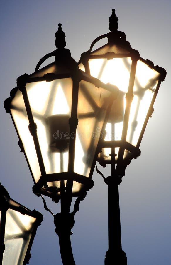 Sun In Lanterns Stock Image