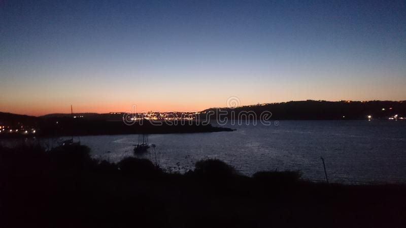 Comino Nigth Theme stock images