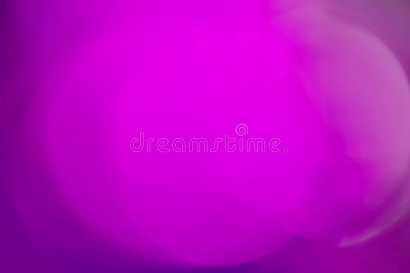 Sun Light Flare in Trendy Ultra Violet Color with Magenta Purple Pastel Gradient Hues. Abstract Background stock photo