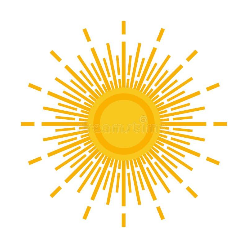 Download Sun Logo Stock Illustration - Image: 83706225