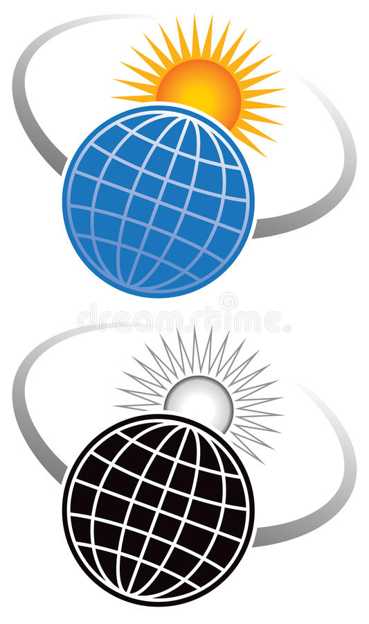 Download Sun Logo stock vector. Image of black, expand, circular - 29997354