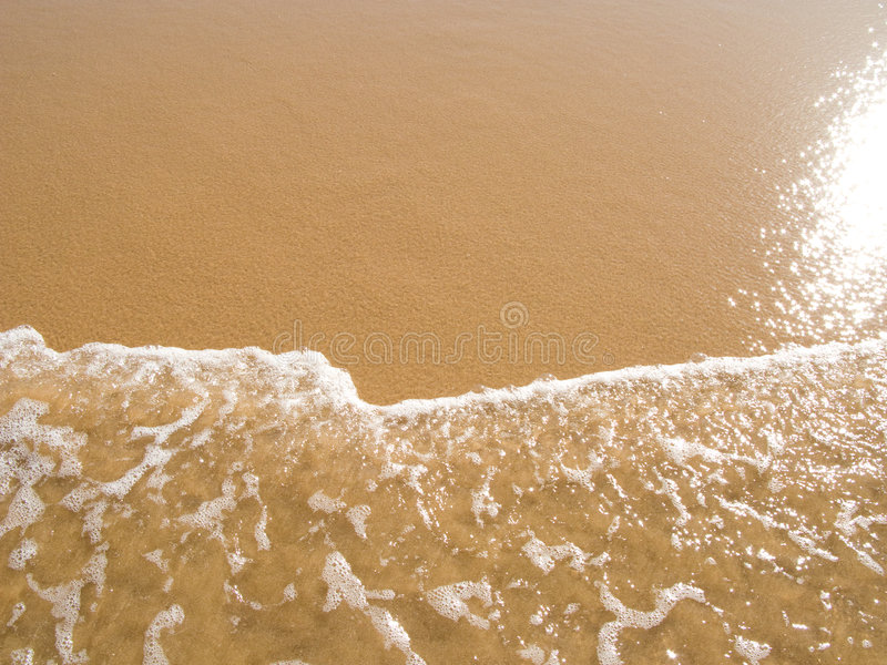 Download Sun Mirrored In The Wet Sand Beach Stock Photo - Image: 5661392