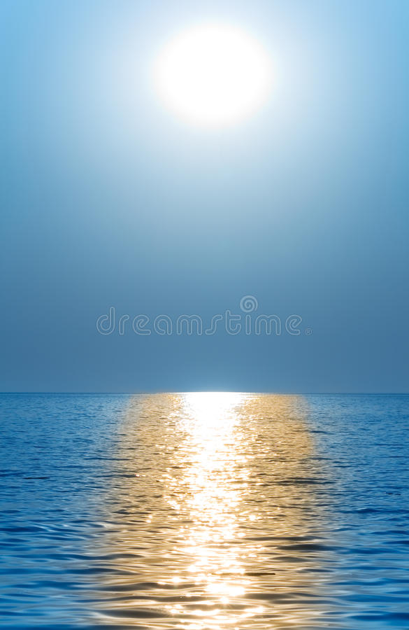 Sun or moon royalty free stock images