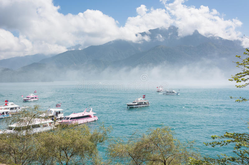 Sun Moon Lake royalty free stock photography