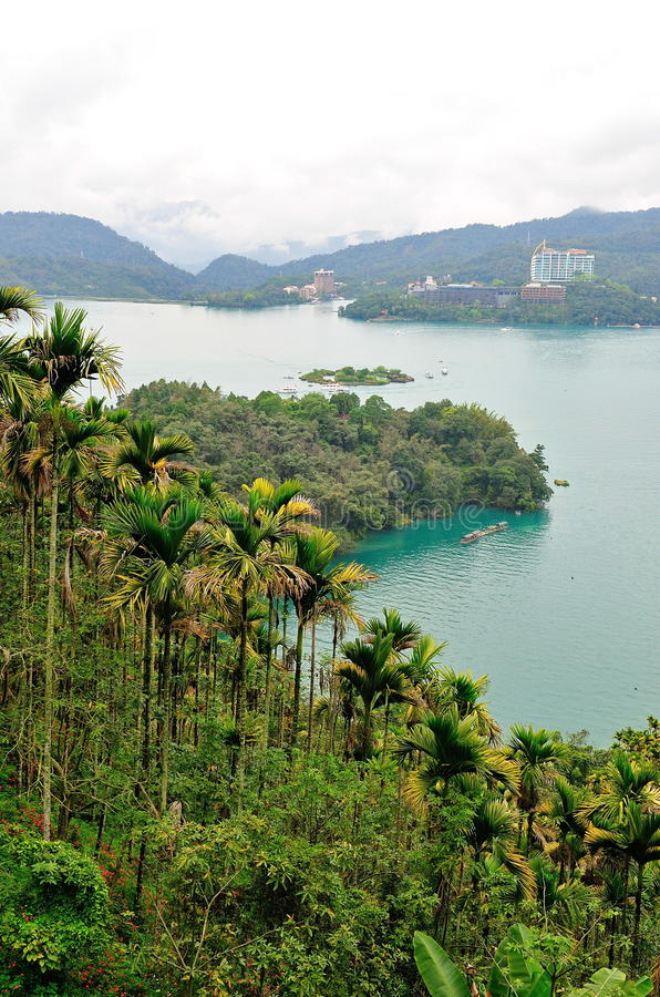 Download Sun Moon Lake in Taiwan stock image. Image of landscape - 24244983