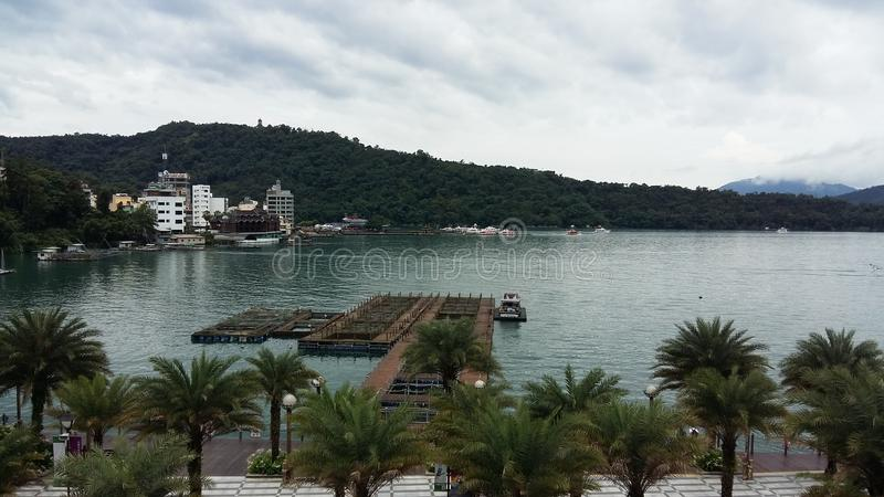 Sun Moon Lake Taiwan royalty free stock image