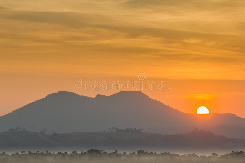 Download Sun and mountain stock image. Image of mountain, peak - 37087423