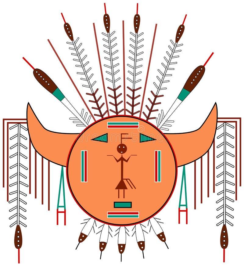 Sun navajo illustrazione di stock