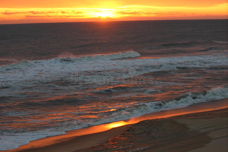 Sun on the Ocean 2 royalty free stock photography