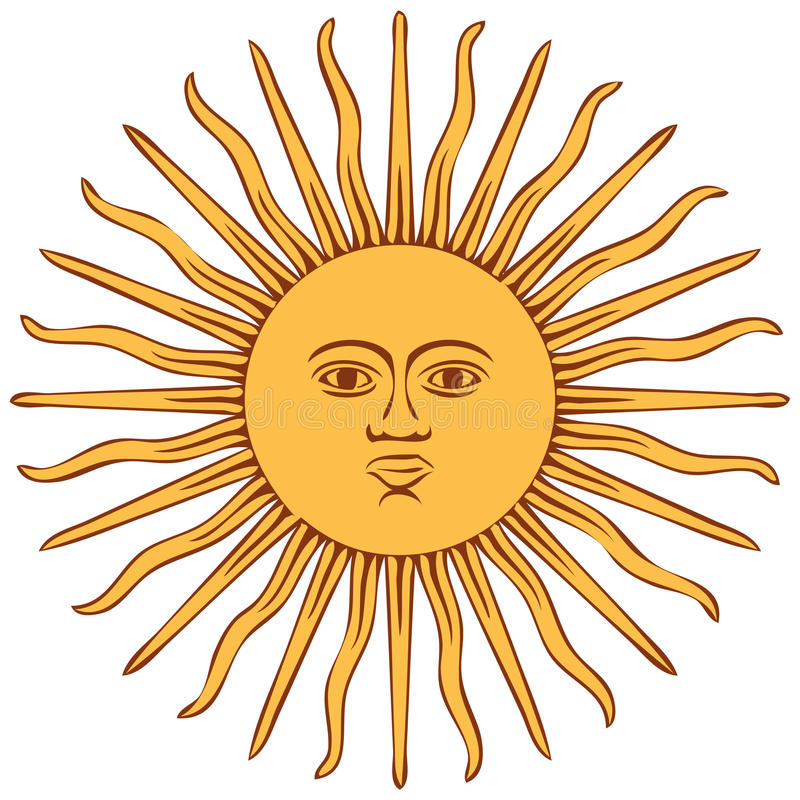 Free Sun Of Argentina Flag Stock Image - 17942481