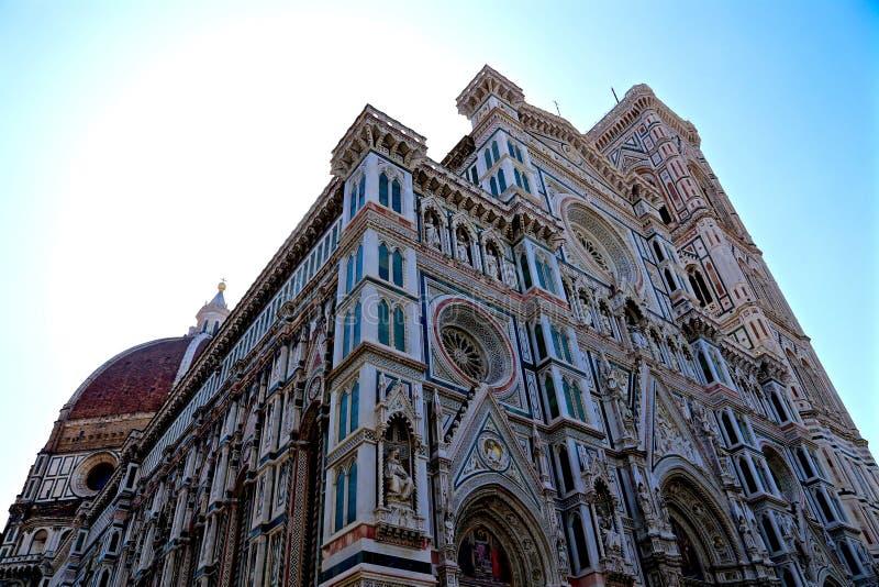 Sun over the Duomo stock photo