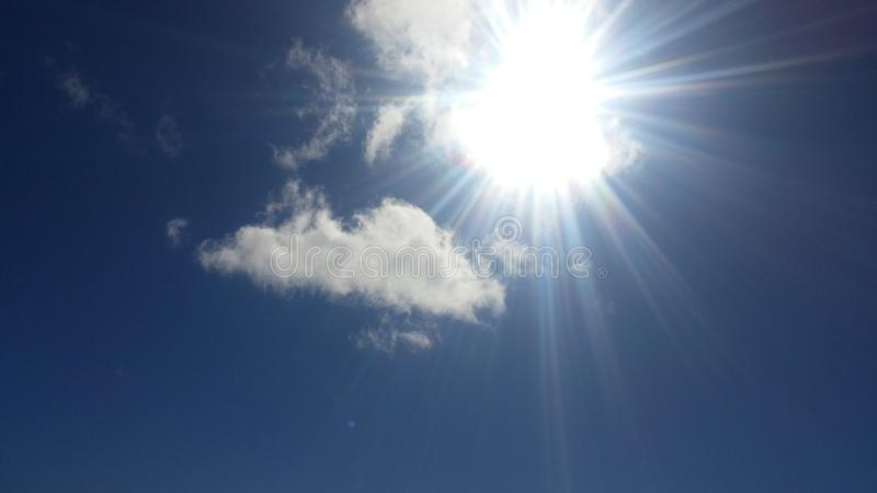 Sun que brilha foto de stock royalty free