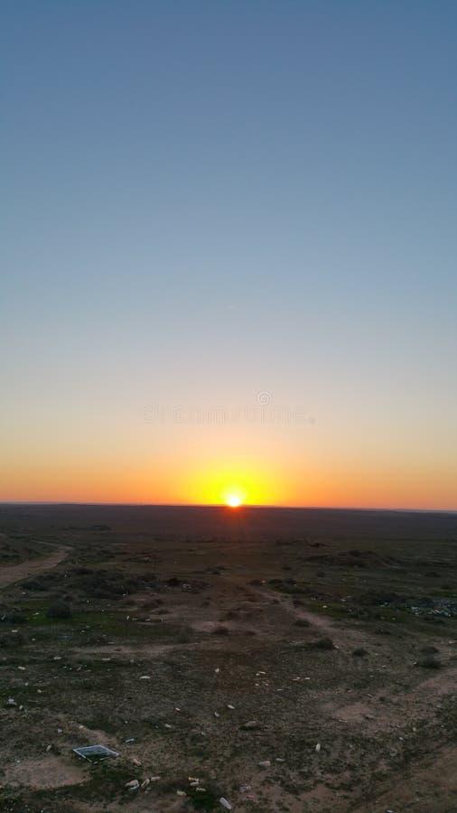 Sun raise stock photo