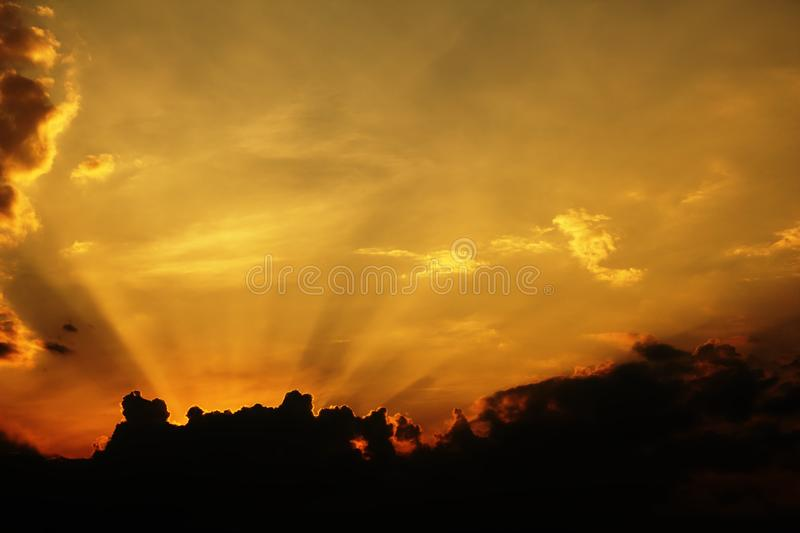 Download Sun rays stock photo. Image of light, clouds, yellow - 19434156
