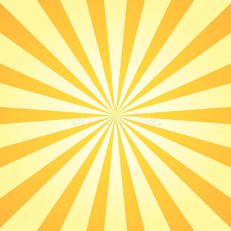 Free Sun Rays Background. Orange Yellow Radiate Sun Beam Burst Effect. Sunbeam Light Flash Boom. Starburst Poster. Sunlight Stock Image - 159075991