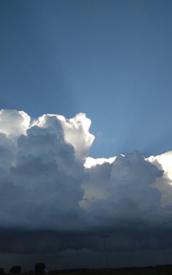 Sun/Regen stockfotos