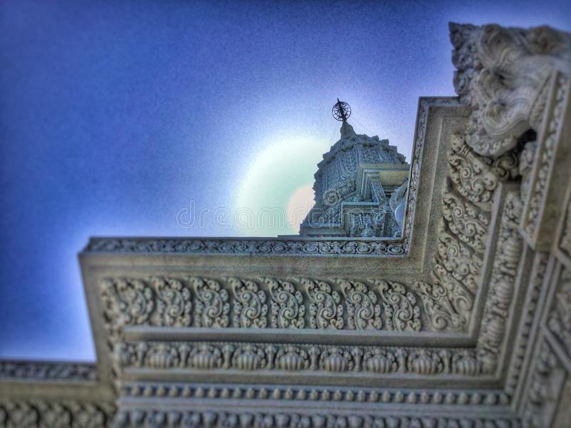 Brightest Star on the Temple royalty free stock photo