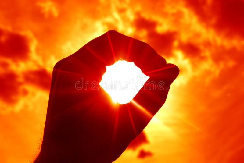 Sun royalty free stock photo
