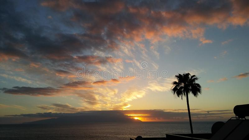 Sun rise royalty free stock photos