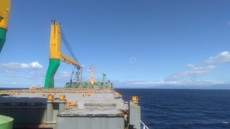 Sun rise sea voyage trip stock images