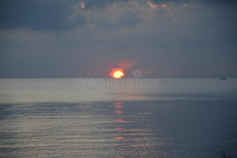 Sun rise stock images