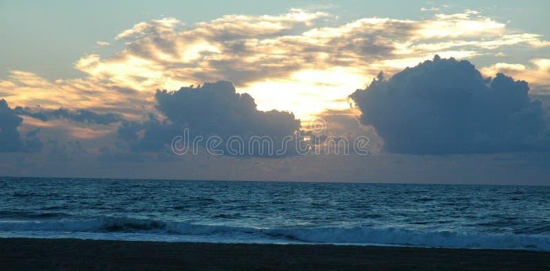 Sunrise on the Beach royalty free stock photo
