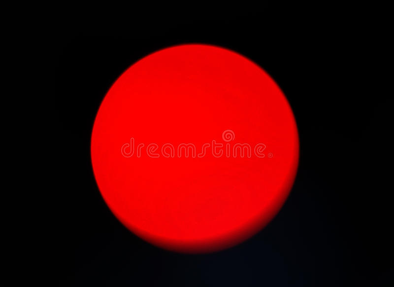 Sun rouge ou planète photos stock