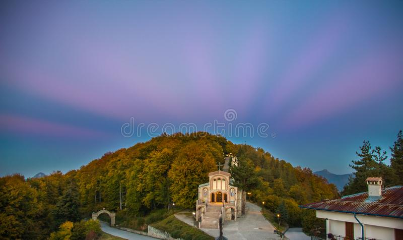 The Wonders of the World Forest in Bulgaria stock photos