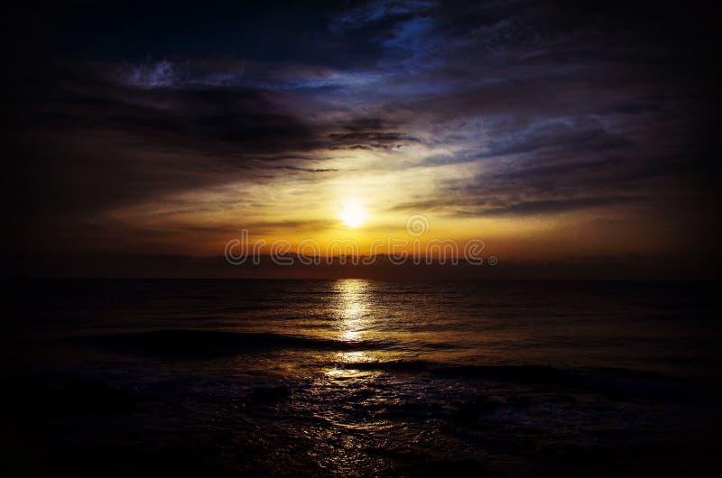 Sun and sea stock image
