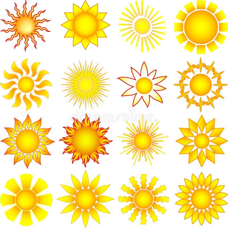 Download Sun set stock vector. Illustration of graphic, season - 15882548