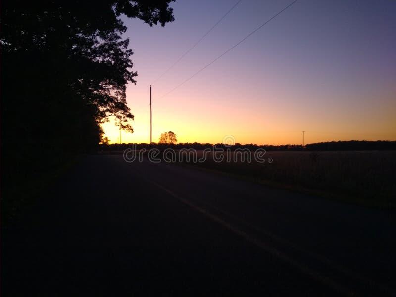 Sun set dream royalty free stock photo