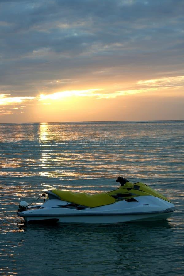 Download Sun-set Jetski Stock Images - Image: 1714054