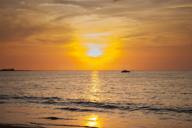 Sun set royalty free stock photography