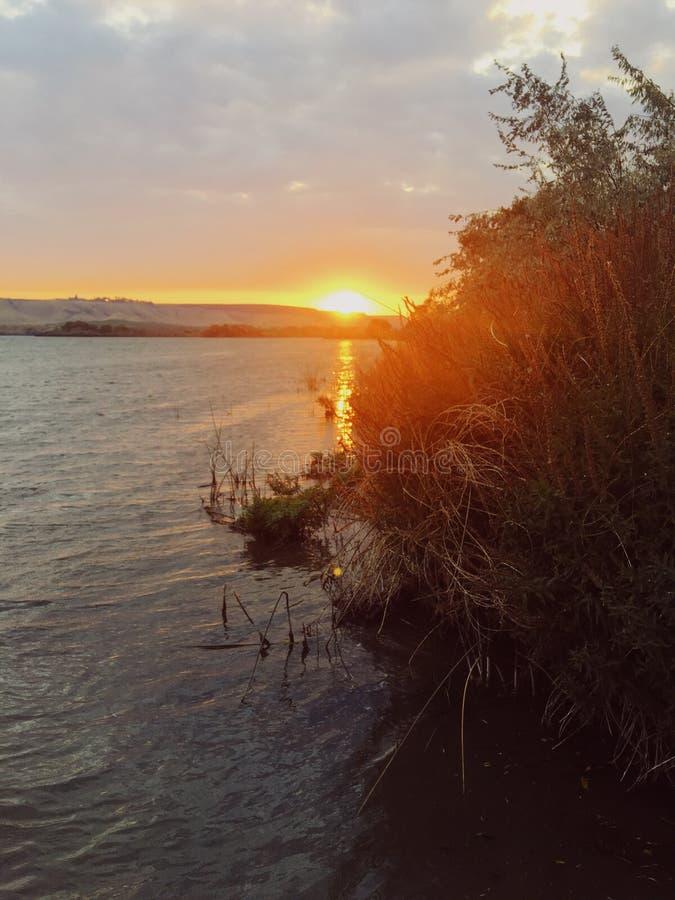 Snake River at Sunset royalty free stock image
