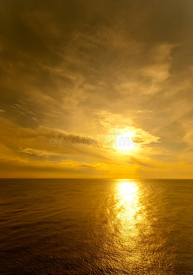 Download Sun Setting Over The Black Sea Stock Photo - Image: 23119746