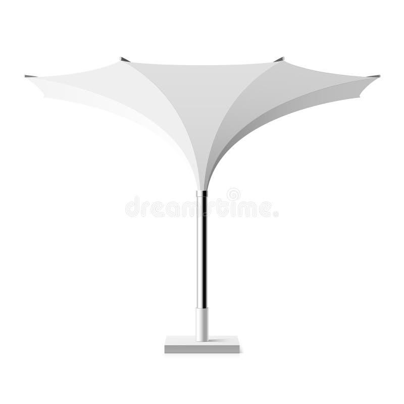 Sun shade tulip umbrella stock illustration